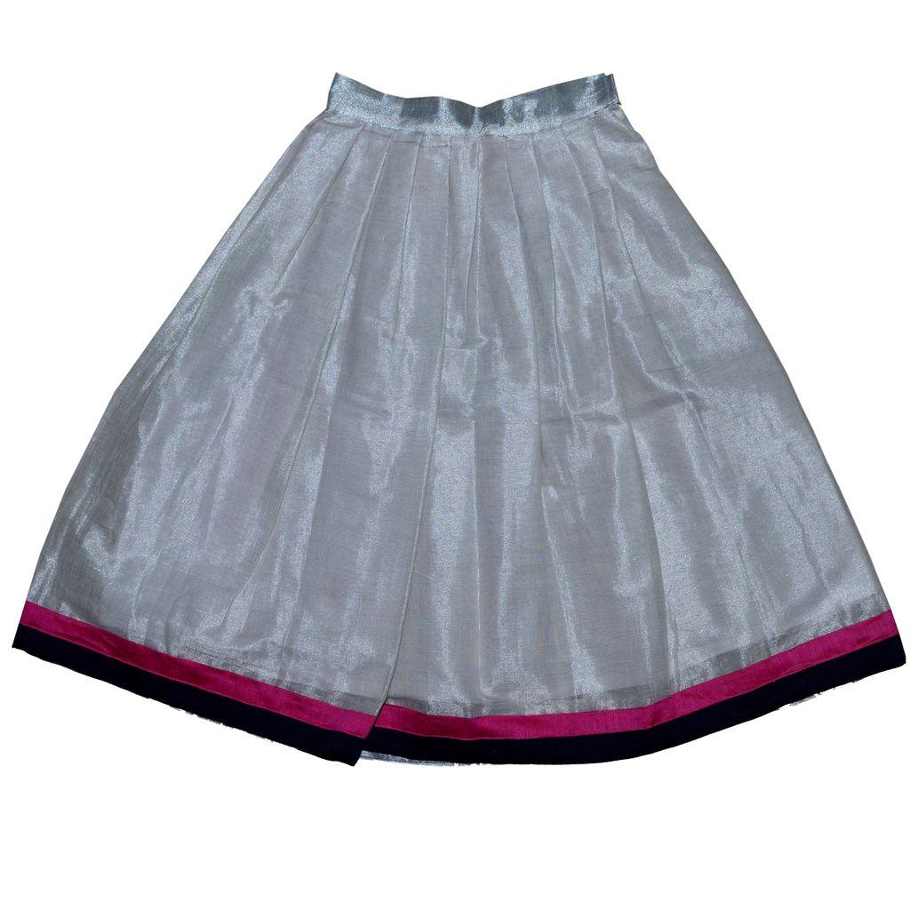 Kids Ethnic Skirt with Halter-Neck Top