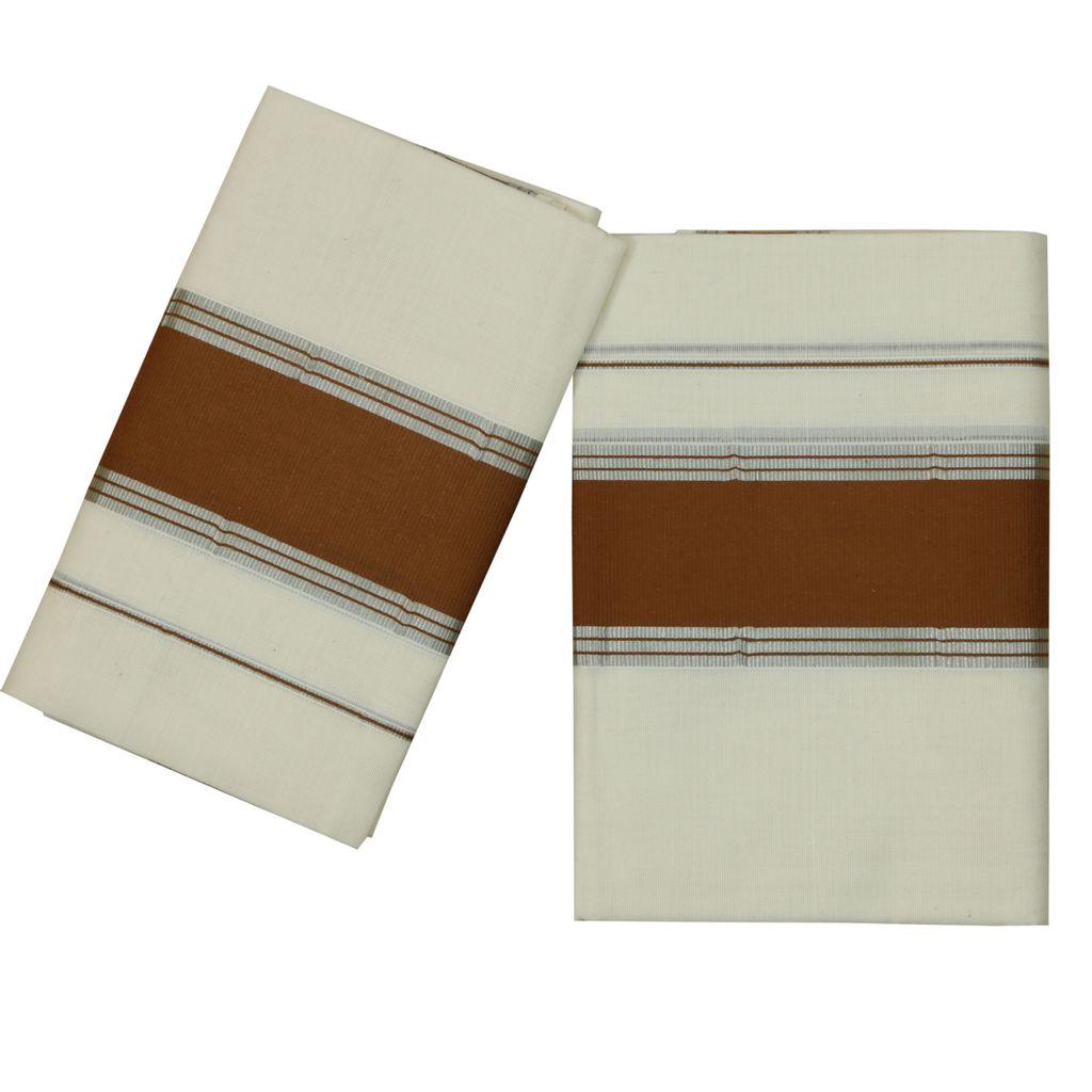 Cotton Set Mund Light Brown With Silver Kara