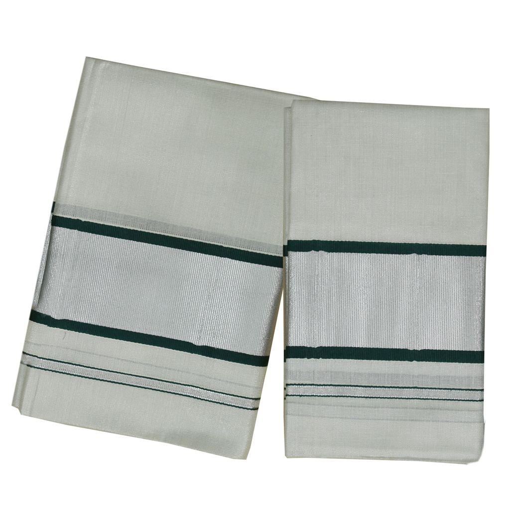 Kerala Tissue Kasavu Setmundu Cottar Collection