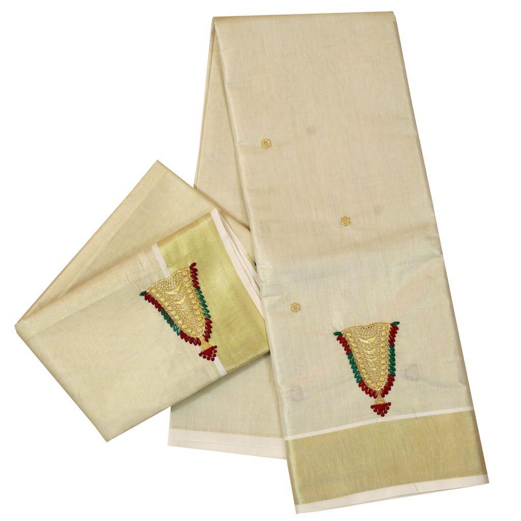 Golden Tissue Dhavani Material